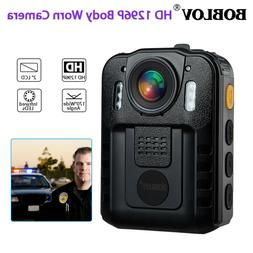 1296P HD Camera Police Body Camcorder 170° Wide Angle IR Ni