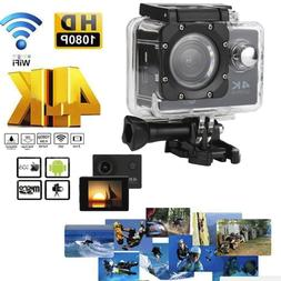 4K 16MP Ultra HD WIFI Waterproof Sport Action Camera DV Vide