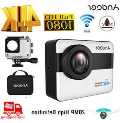 ANDOER 4K WIFI SPORTS ACTION 1080P FULL HD 20MP CAMERA CAMCO