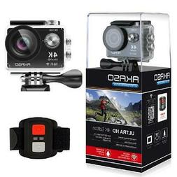 AKASO 4K WIFI Sports Action Camera Ultra HD Waterproof DV Ca