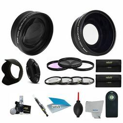 58MM HD PROFESSIONAL LENS AND FILTER KIT FOR CANON EOS REBEL