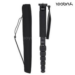 Andoer 6 Section Compact Photography Alloy Monopod Unipod St
