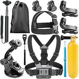 Neewer 8-in-1 Action Camera Accessory Kit for GoPro Hero Ses