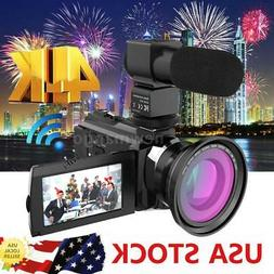 ANDOER 4K 1080P 48MP WIFI DIGITAL VIDEO CAMERA CAMCORDER HAN