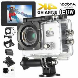 Andoer WiFi 4K Full HD 1080P Waterproof Sports DV Action Cam