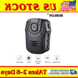 Boblov Police Body Worn Camera HD 1296P 64GB Camcorder DVR P