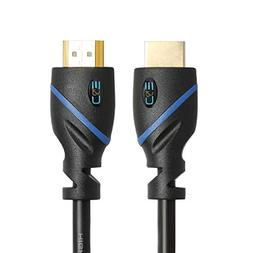 6 FT  High Speed HDMI Cable Male to Male with Ethernet Black