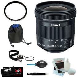 Canon EF-S 10-18mm f/4.5-5.6 IS STM Lens with 67mm UV Protec