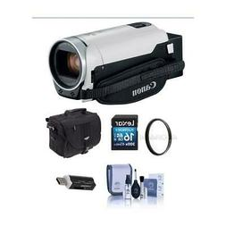 Canon VIXIA HF R800 3.28MP Full HD Camcorder White With Free