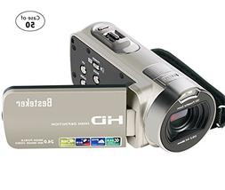 Case of 50, Besteker Camera Camcorder HD 1080P 24MP 16X Digi