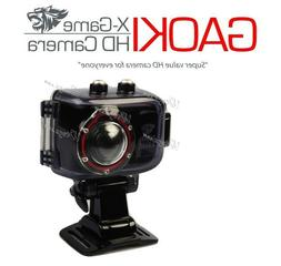 HD Sports Camera Gaoki SHD32A X-Game Waterproof case & Remot