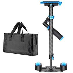 "Neewer Carbon Fiber 24""/60cm Handheld Stabilizer with Quick"