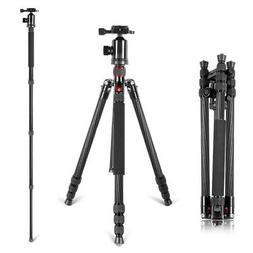 Neewer Carbon Fiber 66 inches/168 centimeters Camera Tripod
