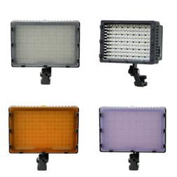 Pro HD-160-LED Video Light Lamp for Canon Nikon Pentax DSLR