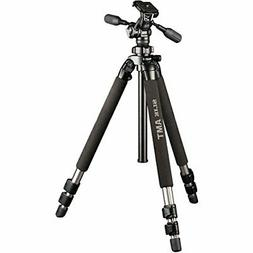 SLIK PRO 500HD Tripod with 3-Way Panhead/Quick Shoe, Black