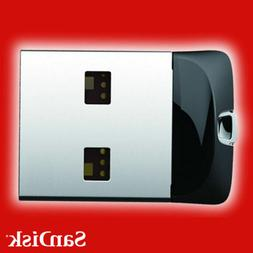 SanDisk Cruzer Fit Flash Drive 8GB 16GB 32GB 64GB USB 2.0 Me