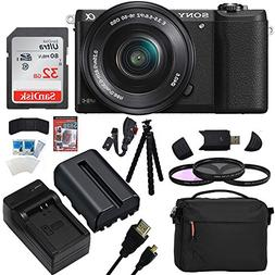 Sony a5100 Interchangeable Lens Mirrorless Camera with 16-50