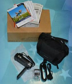 Sony HDR-CX240 Full HD 60P CamCorder Bundle *No Battery or M