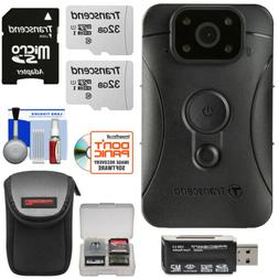 Transcend 32GB DrivePro Body 10 Clip-On Camera