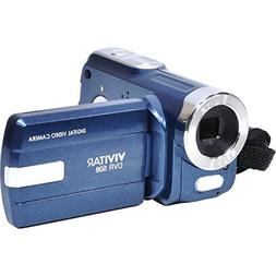 Vivitar DVR508NHD-BLU DVR-508 4X Digital Zoom Video Recorder