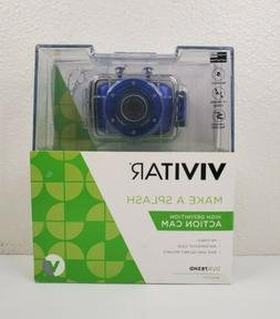 Vivitar HD Action Camera, DVR781HD Blue HD Action Camera
