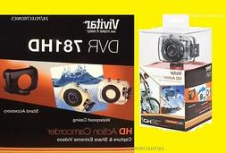 Vivitar HD CAMCORDER CAMERA ACTION WATERPROOF DVR 781HD DVR7