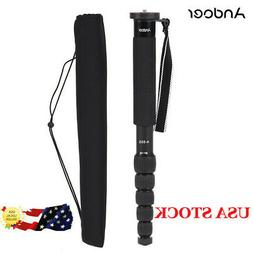 Andoer A-555 Portable Photography Monopod Unipod Stick for N
