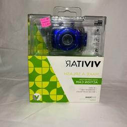 Vivitar HD Action Waterproof Camera / Camcorder - Blue DVR78