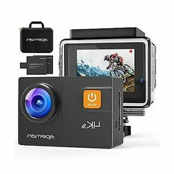 APEMAN Action Camera 4K 20MP WiFi Ultra HD Underwater Waterp