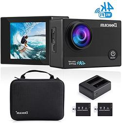 Deecam 4K Action Camera 16MP HD Wifi Waterproof Sports DV Ca