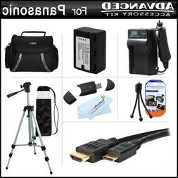 Advanced Accessories Kit For Panasonic HDC-TM90K 3D Compatib