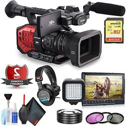 Panasonic AG-DVX200 4K Handheld Camcorder with Four Thirds S
