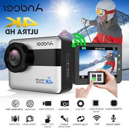 ANDOER AN1 4K WIFI FHD SPORTS ACTION CAMERA 1080P 5X CAMCORD