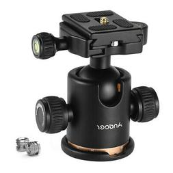 Andoer Tripod Monopod Ball Head + Quick Release Plate for DS