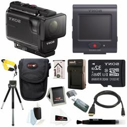 Sony AS50R Full HD 1080p Action Cam Camcorder with Live View