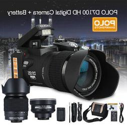 Polo Sharpshots Auto Focus 24X HD 1080P Zoomable Video Digit