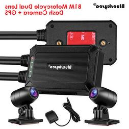B1M 2 Channels 1080P 30FPS Motorcycle Wifi Dash Cam Camcorde