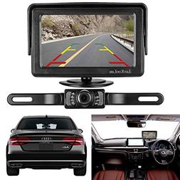 LeeKooLuu Backup Camera and Monitor Kit for Car/RV/Truck/Pic