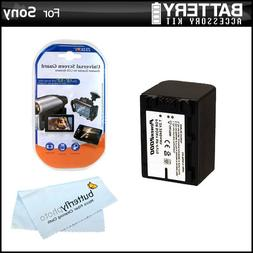 Battery Kit For Sony HDR-CX220, HDR-CX220/B, HDR-CX220/L, HD