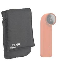 DURAGADGET Black Cushioned Lightweight Action Camera Cover/C