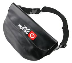 DURAGADGET Black 'Travel' Waterproof Waist Bag / Dry Camcord