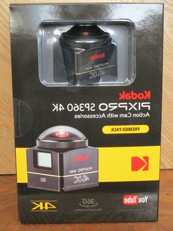 Brand New - Kodak PixPro SP360 4K HD Video Action Camera Cam