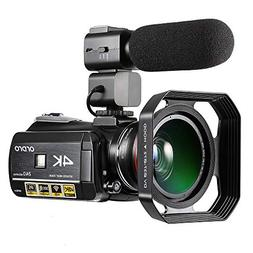 4K Video Camera ORDRO Camcorder 3.1'' IPS Touch Screen U