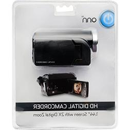 ONN HD Camcorder Video Camera With 1.44-inch Screen, 2X Digi