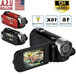 Camcorder Digital Video Camera 1080P HD TFT LCD 24MP 16x Zoo