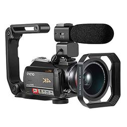 4K Camcorder, Video Camera ORDRO AC5 with 12x Optical Zoom 3
