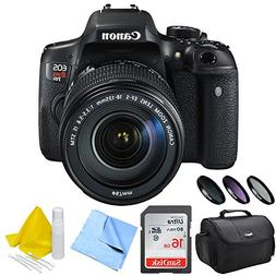Canon EOS Rebel T6i DSLR Camera and EF-S 18-135mm IS STM Len