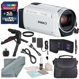 Canon Vixia HF R800 HD Camcorder  Bundle W/ 32GB SD Card, Ca