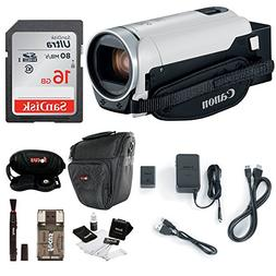 Canon VIXIA HF R800: 1080p HD Video 57x Zoom Camcorder Bundl