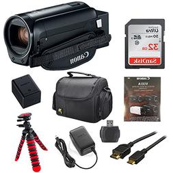 Canon Vixia HF R800 1080p HD Video Camera Camcorder  with 32